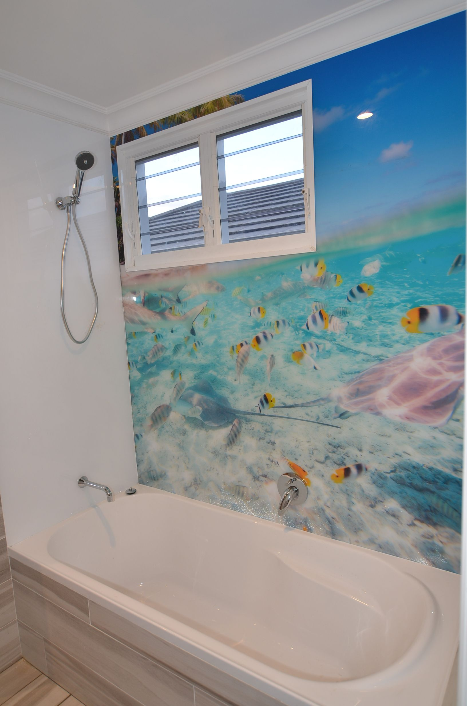 Charming Innovative Splashbacks® Add That #luxury Highclass Finish To Any Space.  This #bathroom