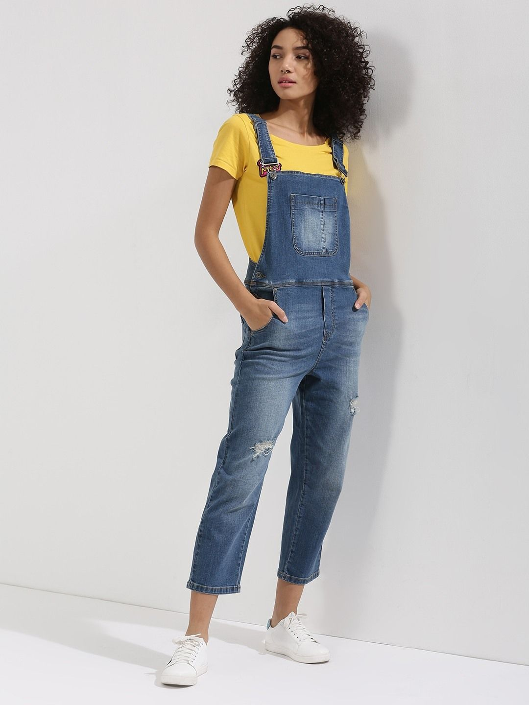 6b64fa68627 Buy Denim Dungaree For Women - Women s Blue Dungarees Online in India