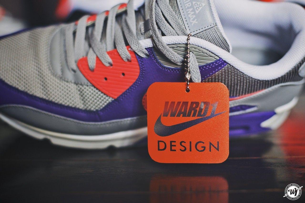 pretty nice 10fe6 4bd4c Custom Nike Hang Tags for Ward 1 Design