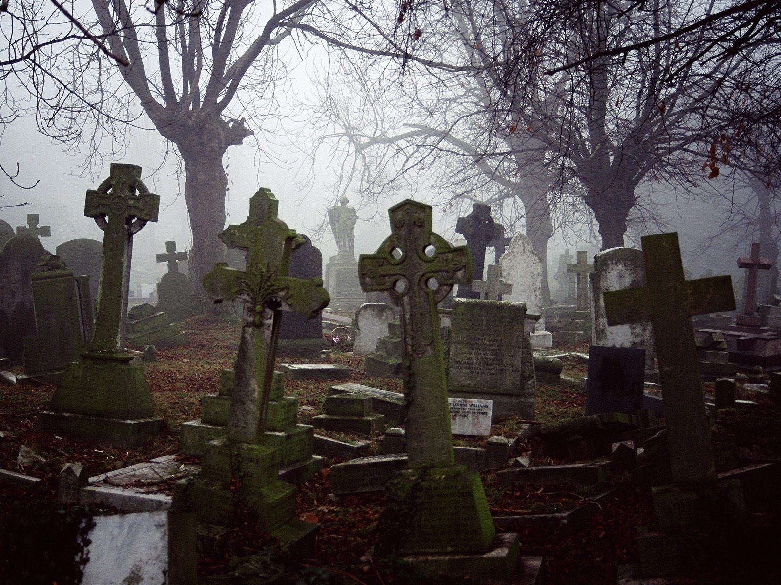 Haunted Cemetaries Of The World