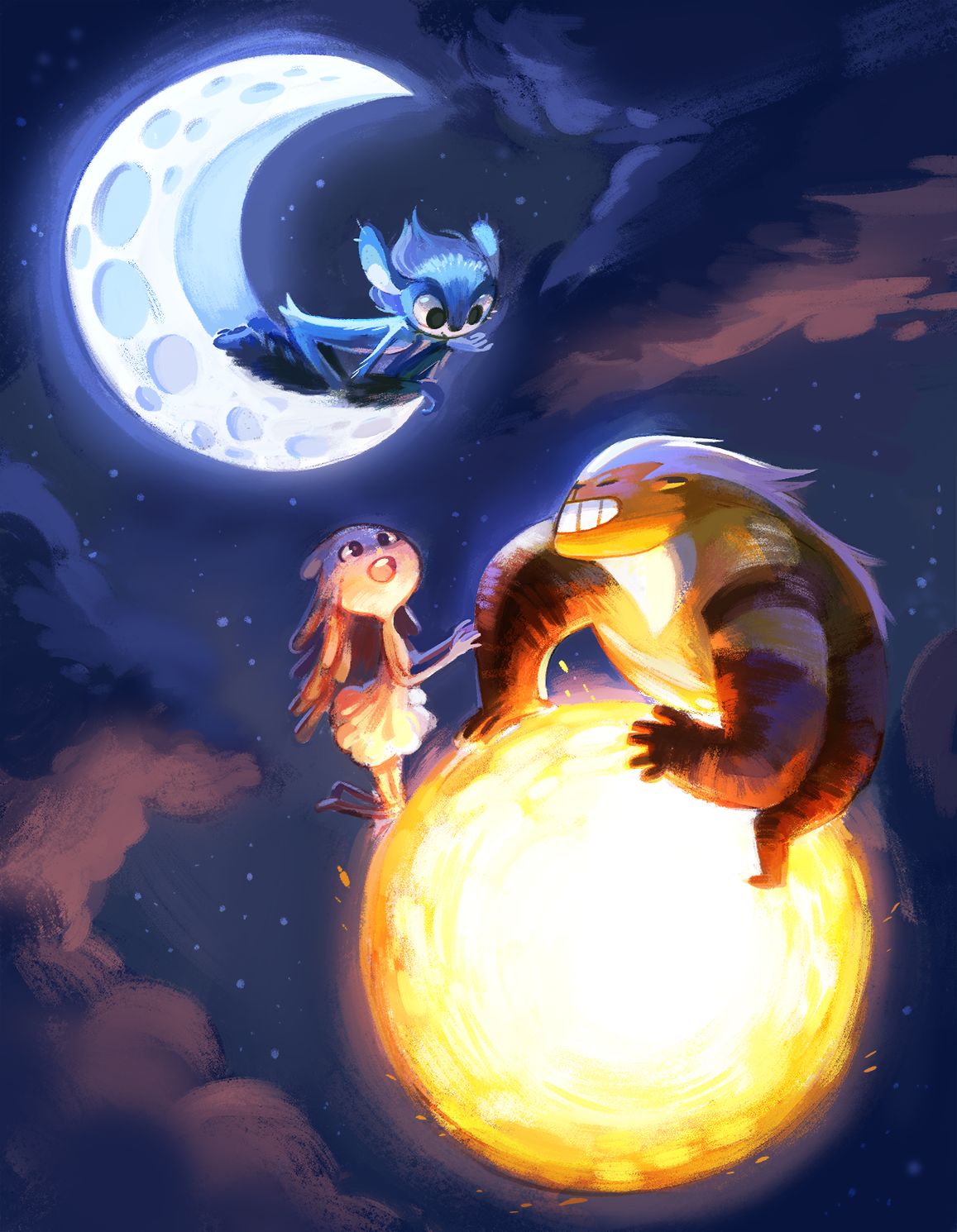 Pin By Nana On Your Pinterest Likes Guardian Of The Moon Moon Art Art