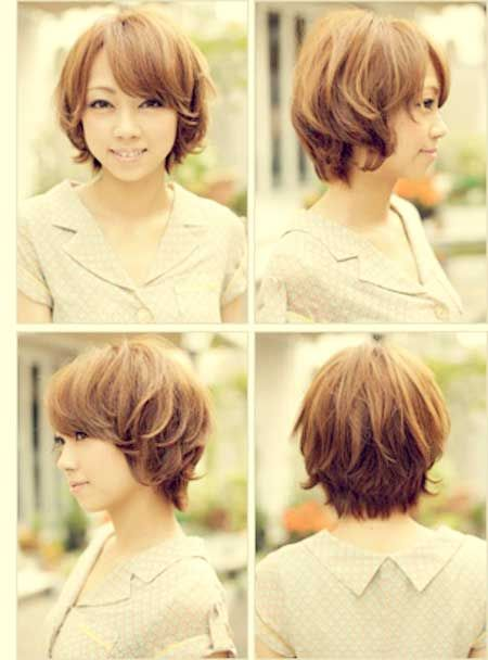 Asian Wavy Hairstyles For Long Hair : 20 short haircuts for wavy hair 2013 2014
