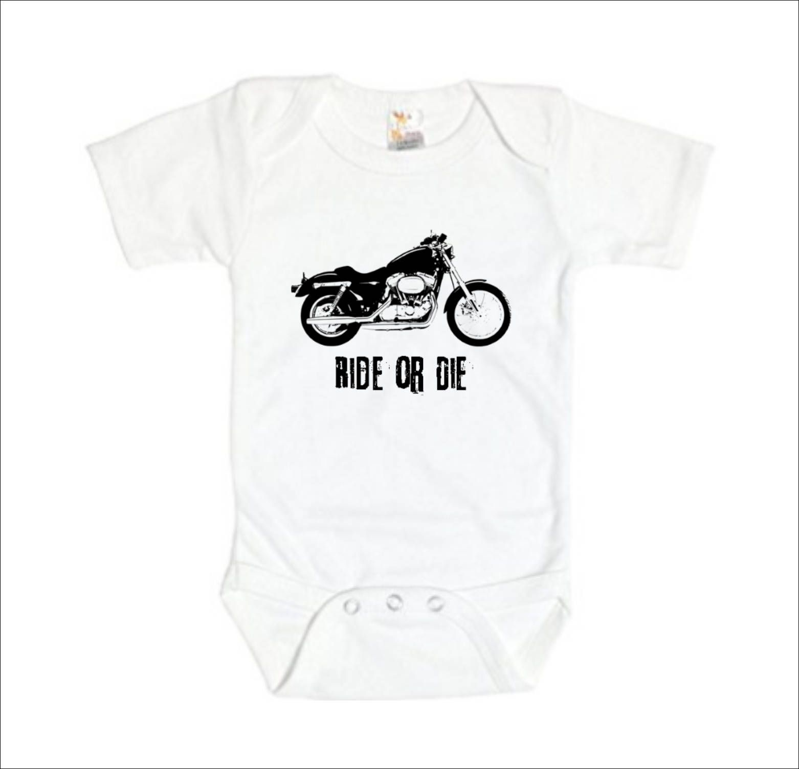 Ride or Die Motorcycle Baby Clothes Biker Baby Shower Motorcycle