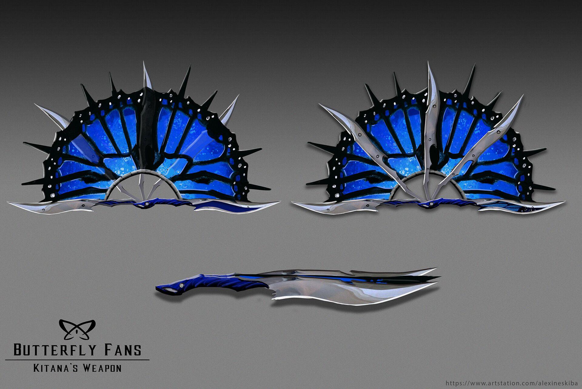 Artstation Kitana Fan Art Aleksandra Skiba Mortal Kombat