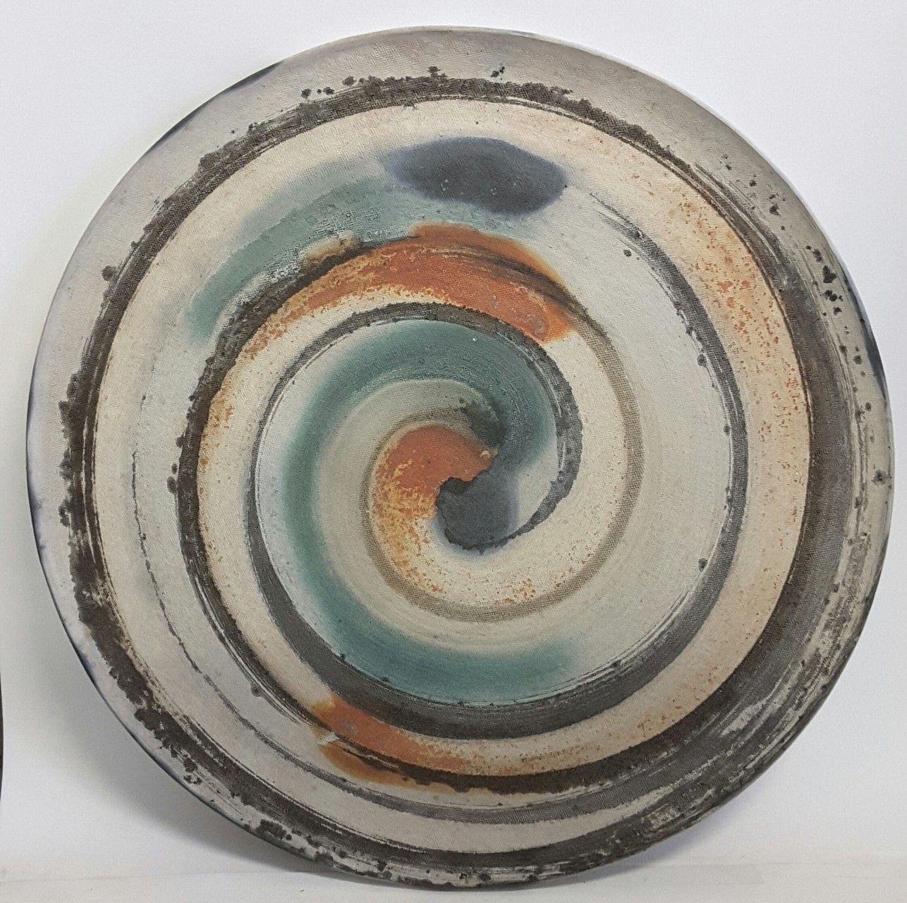 Vasijas jarrones decorativos ceramica art stica - Platos decorativos modernos ...