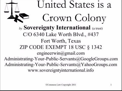 Image result for The United States is a Corporation