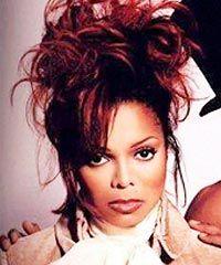 Red Hair Janet Jackson Jackson Family Hair Makeup