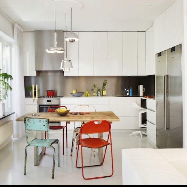 Épinglé Par Tere Mendez Sur Deco Pinterest Déco - Mike meuble de cuisine pour idees de deco de cuisine