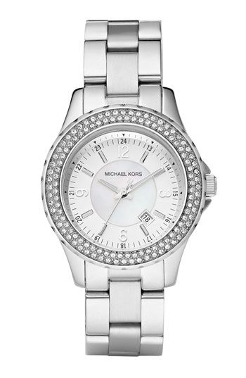 ea992f583522 Michael Kors  Mini Madison  Twin Row Crystal Watch