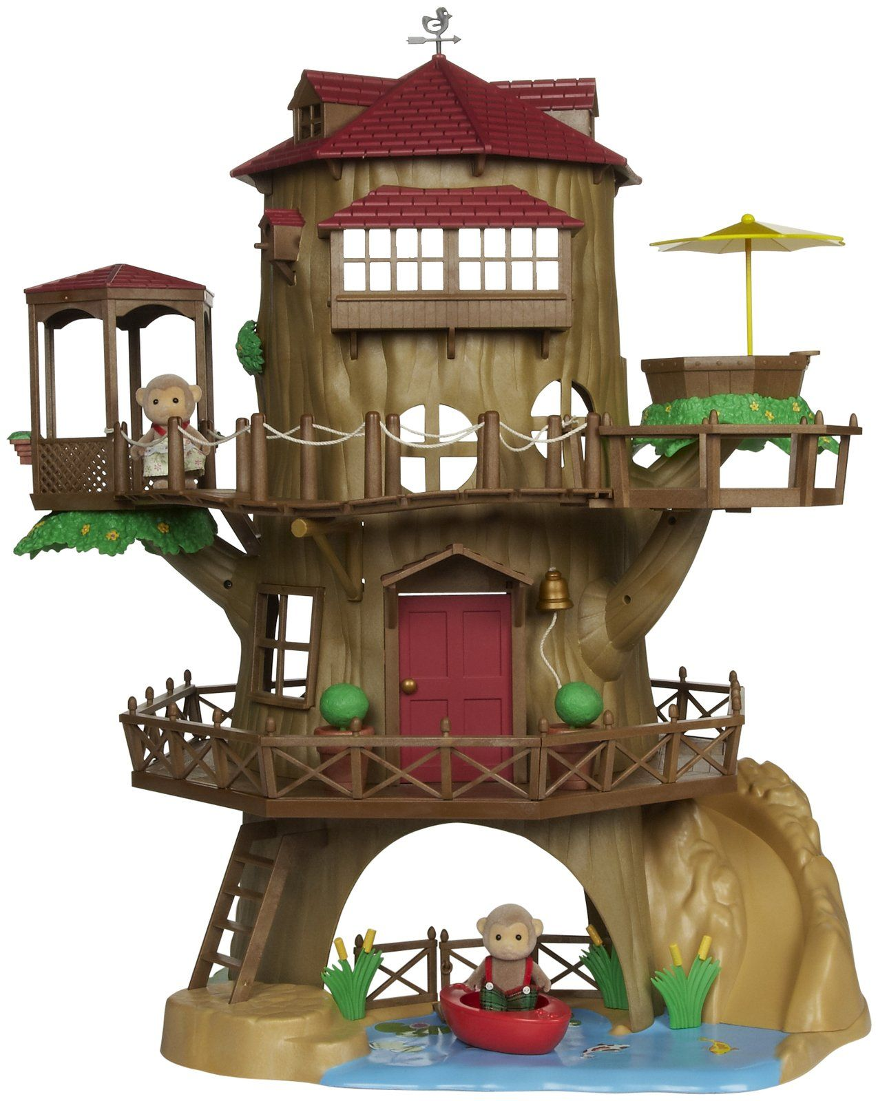 Calico Critters Country Tree House - Free Shipping