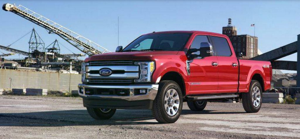 The 2017 Ford Super Duty Build And Price Page S Went Live Today