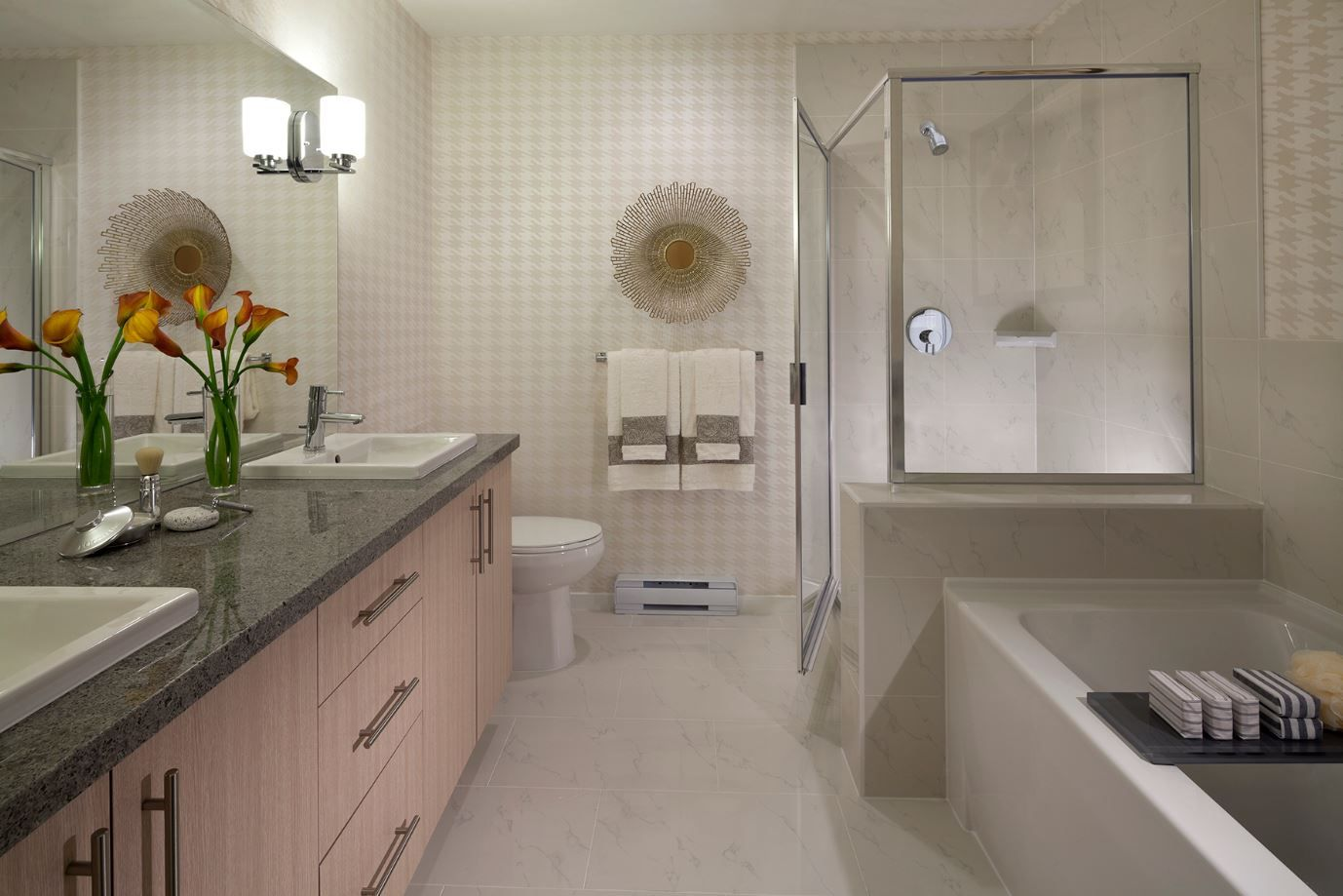 Ensuite bathroom  This 5 piece ensuite is breathtaking and fully indulgent   The bathroom includes. Ensuite bathroom  This 5 piece ensuite is breathtaking and fully