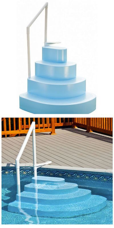 Pool Equipment Parts And Accs 181070 Ne100bl Splash Wedding Cake Step For Above Ground Pools