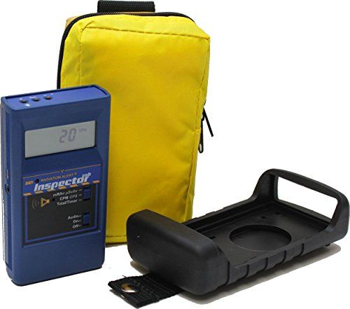 Radiation Alert Inspector Xtreme USB Handheld Digital Radiation Detector with LCD Display and Protective Boot