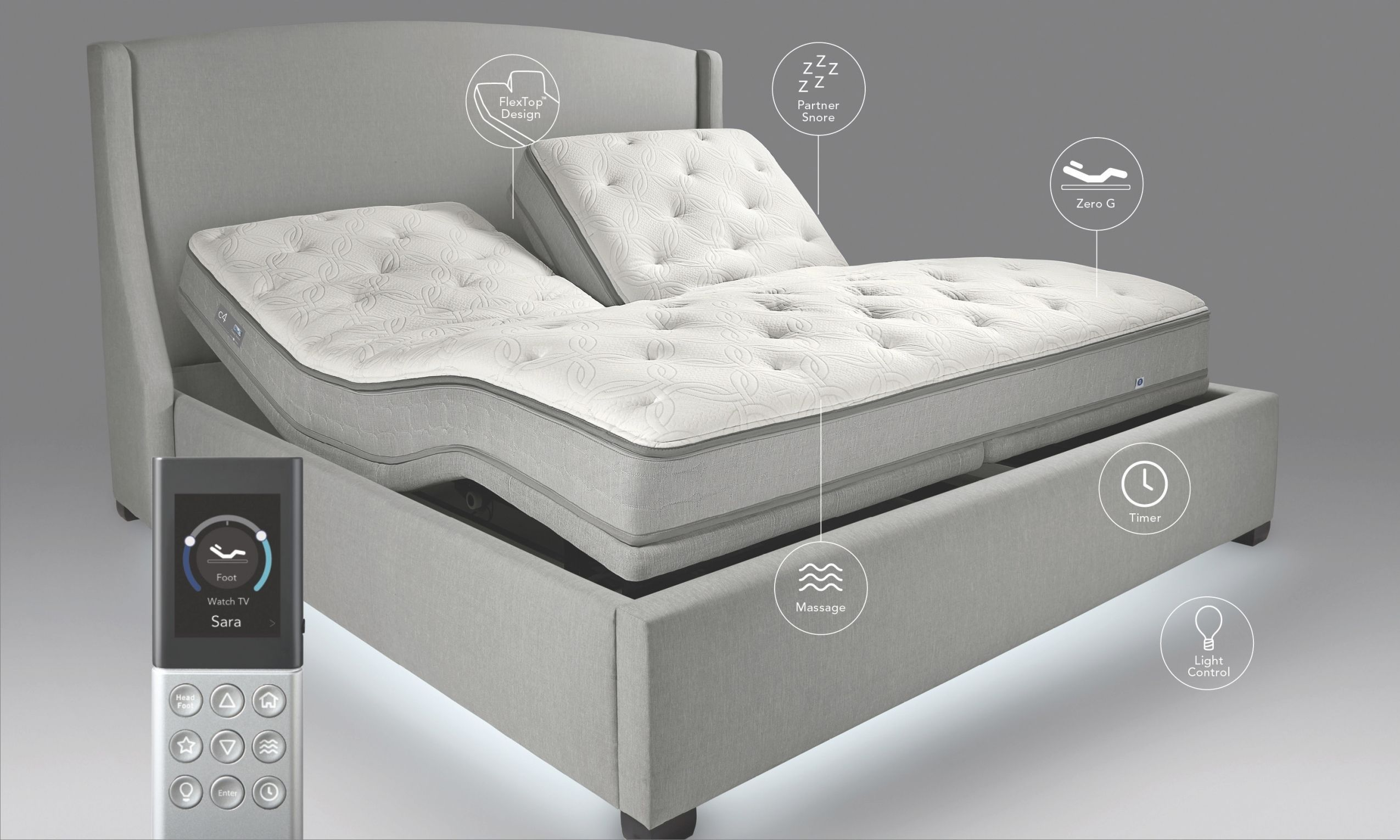 Sleeping On A Sleep Number Bed With Images Sleep Number Bed