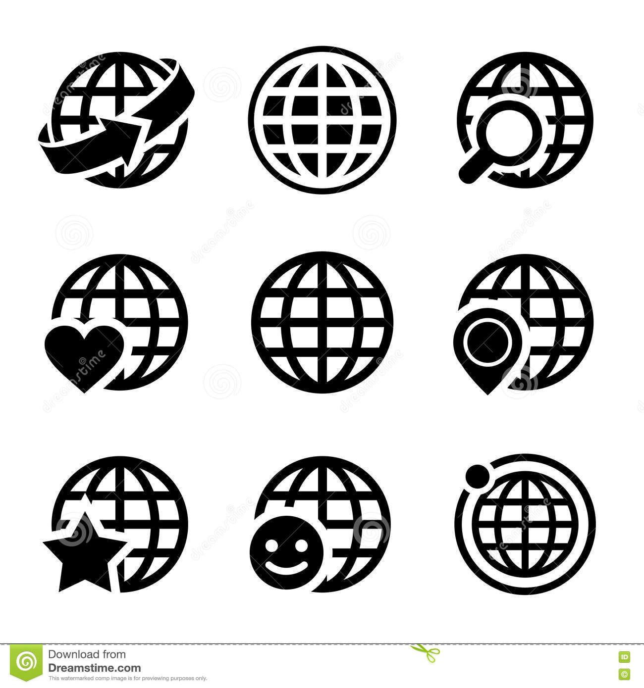 Pin by cyberbrander on 2017 cb biz tools pinterest globe earth vector icons set globe earth vector icons set on white created 4 december 13 graphics files included jpg image eps illustrator high publicscrutiny Choice Image