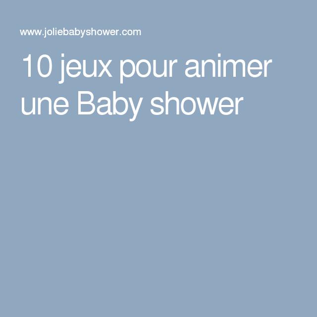 10 jeux pour animer une baby shower baby shower. Black Bedroom Furniture Sets. Home Design Ideas
