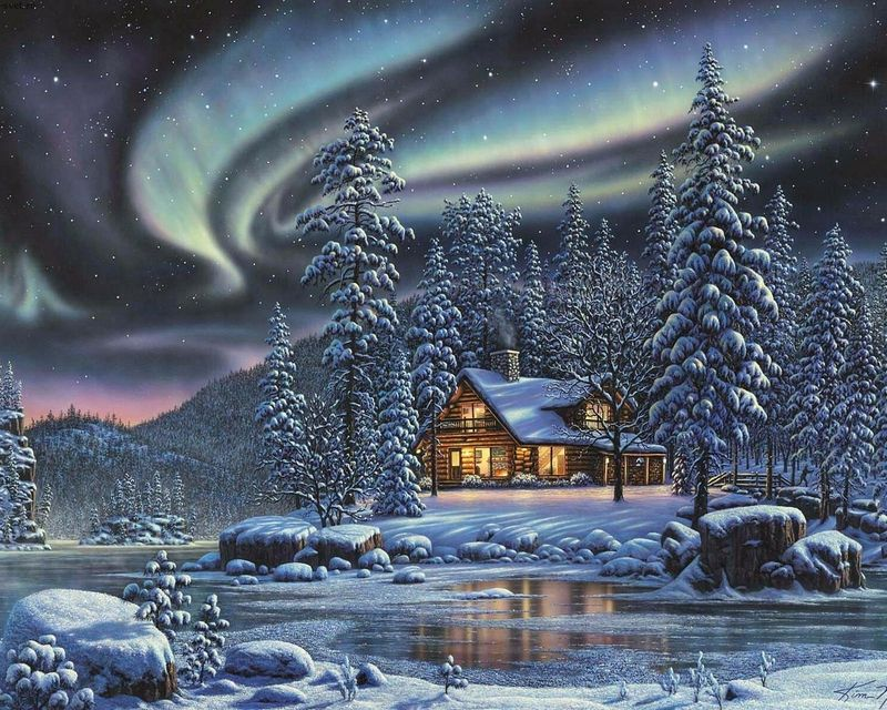 Northern Lights Wallpaper High Definition | ... COLD NORTHERN ...