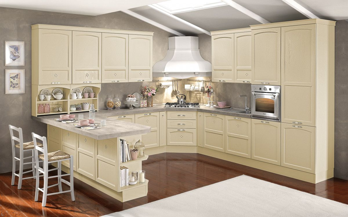 Cucina componibile, corda Carmen W1W2 Cucine, Cucina