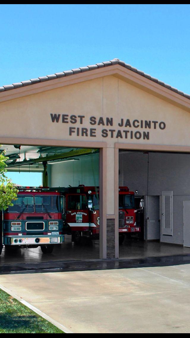 San Jacinto Fire Station Fire Station House Fire San Jacinto