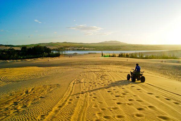 Sand Dunes Muine, Vietnam