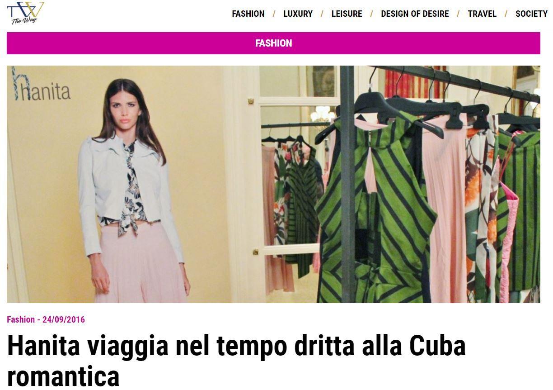 """""""Gli anni 70' di #Cuba sono un punto di riferimento per la romantica viaggiatrice Hanita, che sintetizza le influenze spagnole, africane e americane in una collezione ad alto contenuto di #ethno-#chic"""" 🇮🇹   Focus di The Way Magazine sulla nuova collezione Hanita Spring Summer 2017 ☀️"""