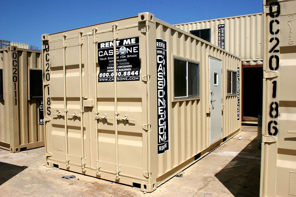 8 X 20 Container Office Model Oc20 New Container Office Container Company Shipping Container Homes