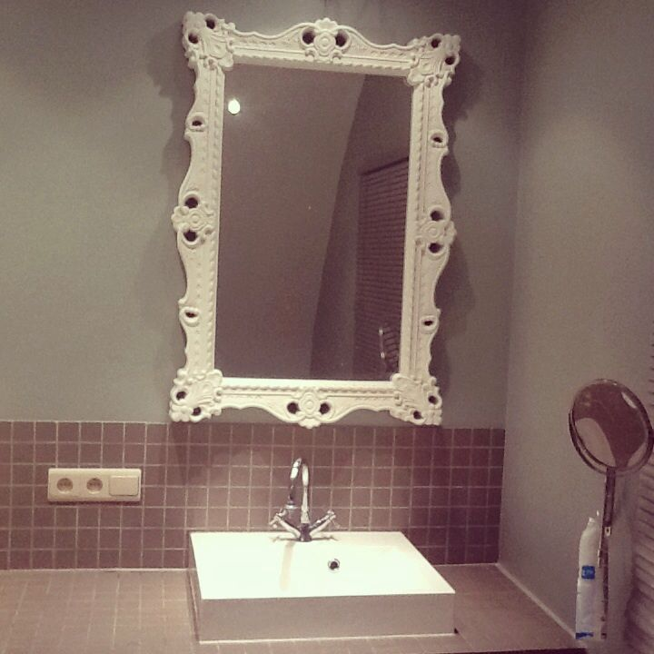 Love my greygreen bathroom x