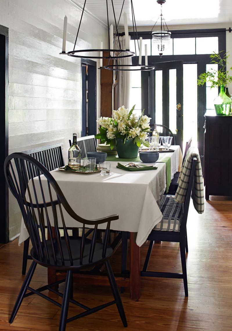 modern country dining room | interior design + decorating ideas