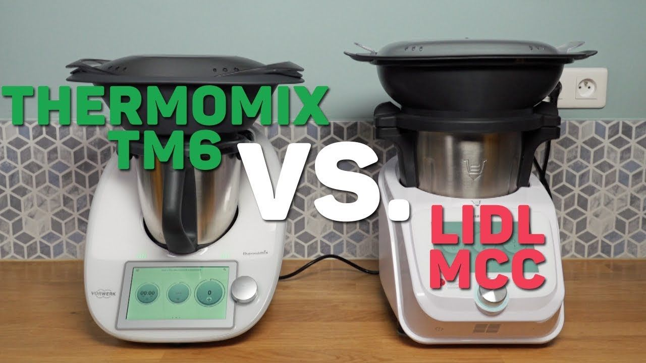 Monsieur Cuisine Connect VS Thermomix TM6 : le match