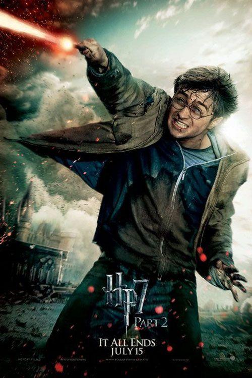 New Harry Potter Deathly Hallows Action Posters Fandango Fotos De Harry Potter Personajes De Harry Potter Afiche De Harry Potter