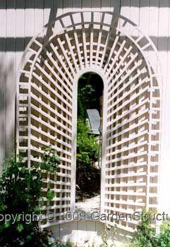 trompe l 39 oeil trellis plan tro111 pro gardens pinterest trellis panels gardens and. Black Bedroom Furniture Sets. Home Design Ideas