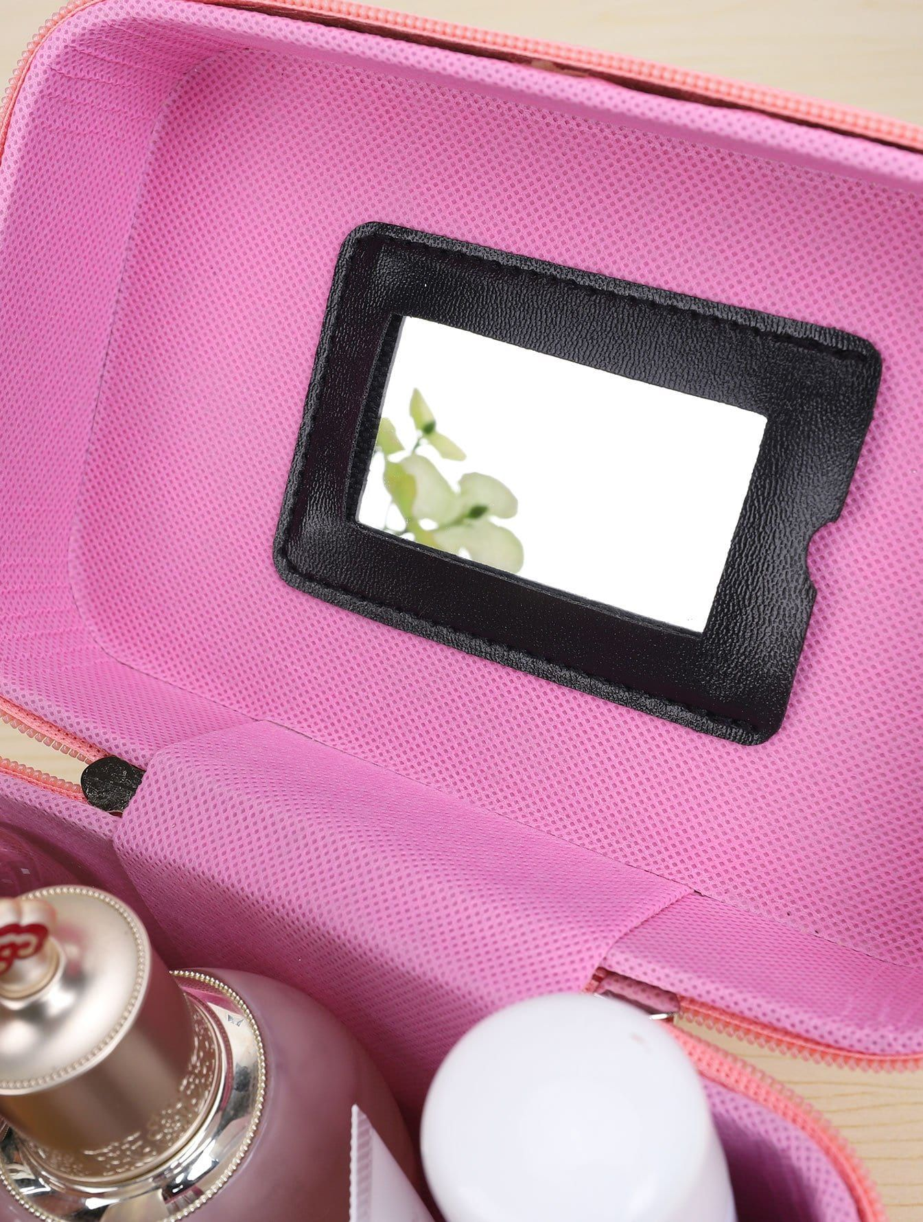 Bow Decor Portable Cosmetic Storage Bag Portable Decor Bow