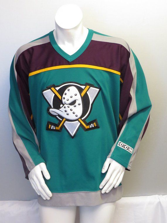 b769d0032 Anaheim Mighty Ducks Jersey - 1997 3rd Jersey by CCM - Men's Large ...