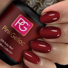 Pink Gellac Gel Nagellak Kleur 235 Ruby Red