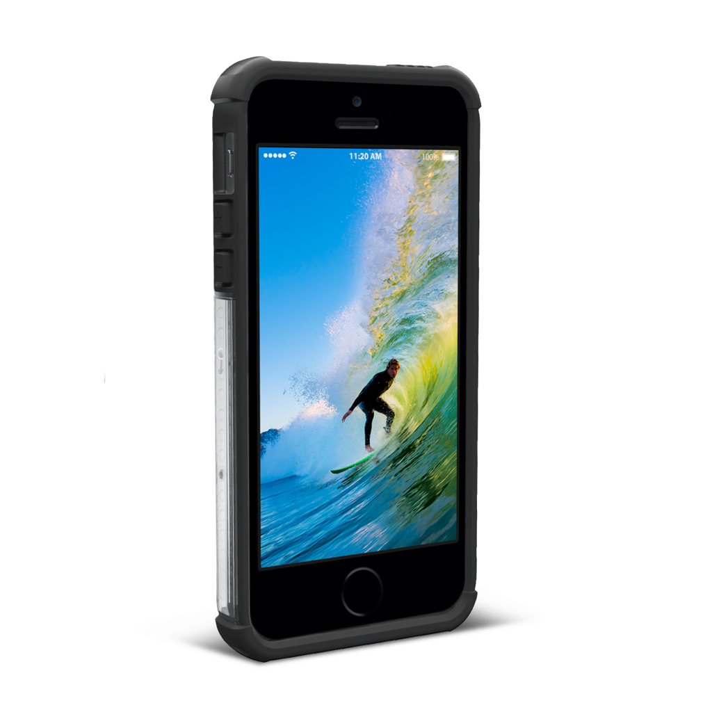 Чехол UAG Armor для iPhone SE / 5 / 5s Прозрачный UAG, Противоударный, Прозрачный, Накладка, Крутой, Armor, Силиконовый, Пластиковый, для телефона, iPhone 5 / 5S, , Чехлы,