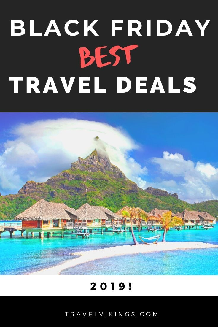 Save hundreds of dollars with the biggest Black Friday Travel Sale in 2019! The major travel companies offer huge discounts on flights, hotels, vacation packages, tours, travel insurance and more! Travel packages or show tickets can be the best Christmas gifts! Book your dream vacation without breaking your budget !