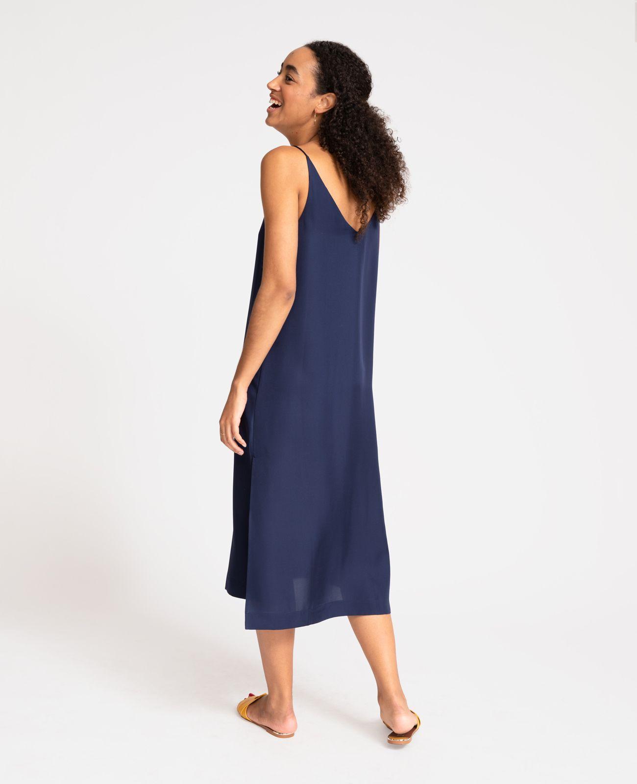 de3d88c99648 Silk V-Neck Slip Dress in 2019   CLOTHES   Dresses, Silk, V neck