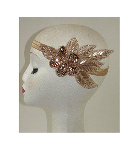 Starcrossed Beauty Haarschmuck Haarband Im Stil Der 20er Jahre