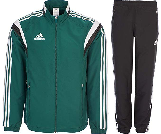 ceead782df70c adidas Tracksuit Woven Soccer RefSuit Track Top Pants Training Black ...
