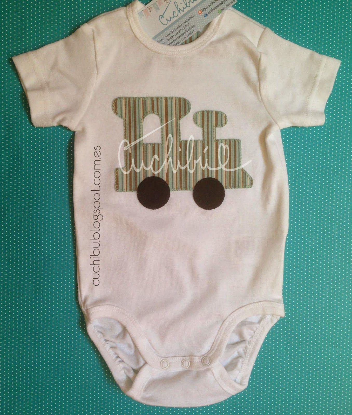 #bodies para #bebés decorados con bordado de aplicación a mano #handapplique #babyonesies #babyshower