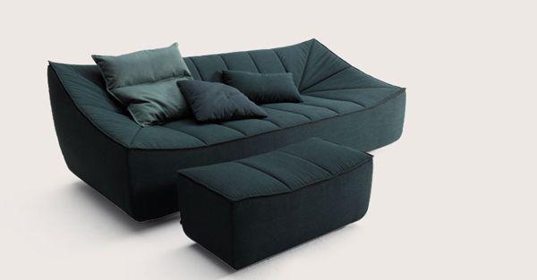 Magnifique Fauteuil Tissu Confortable Décoration Française - Canapé et fauteuil design