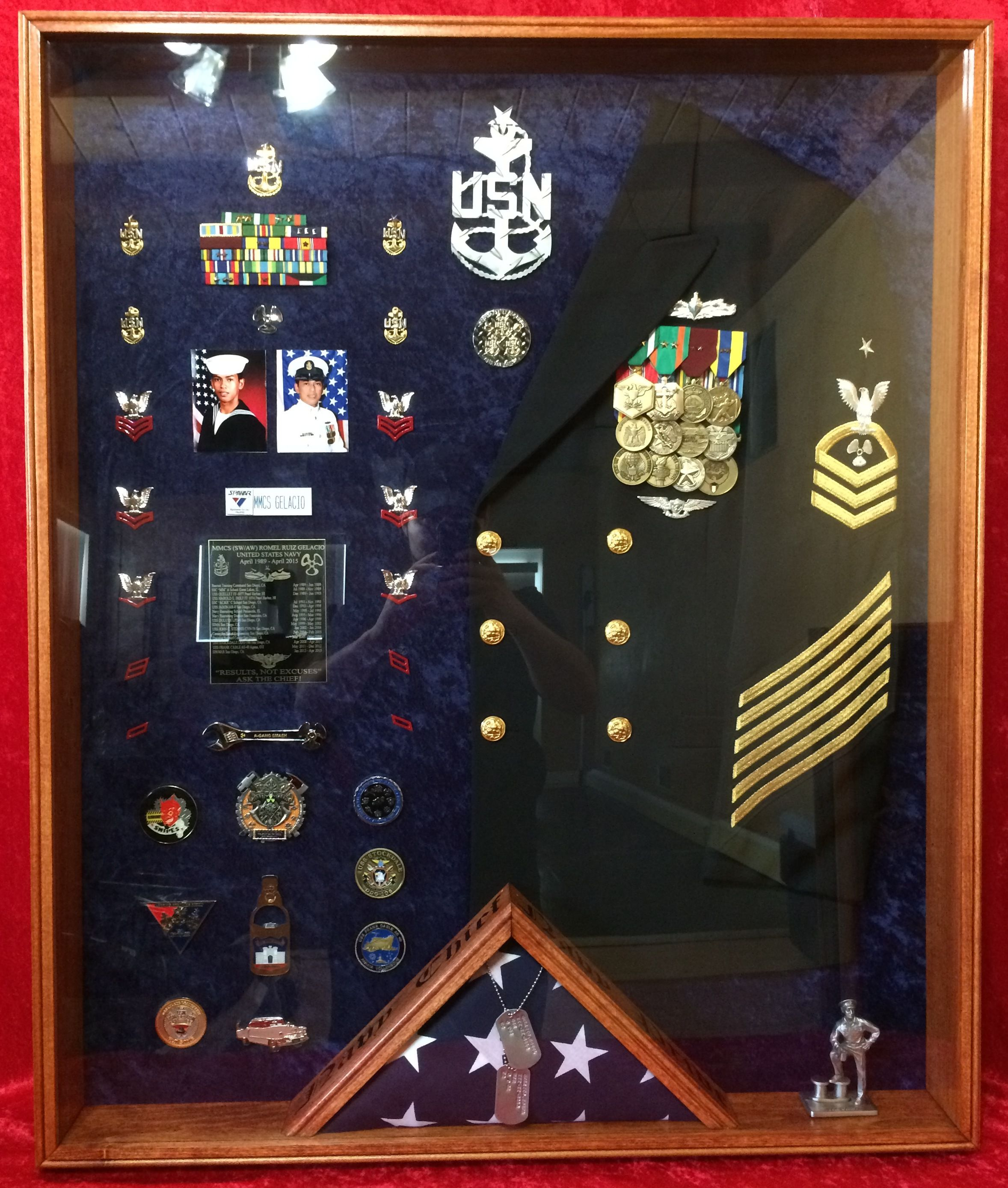 Military Shadow Box Ideas Us Navy Shadow Box Questions