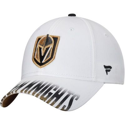 Youth Fanatics Branded White Vegas Golden Knights Iconic Hustle Adjustable  Hat b9b6bd4a422