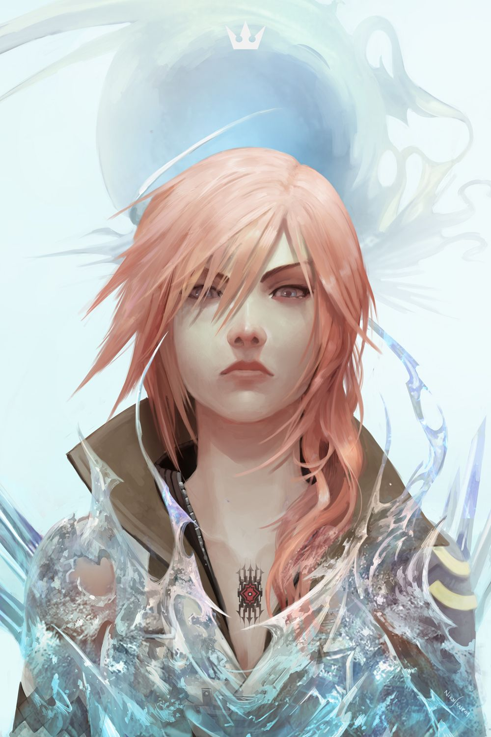 Pin By Final Fantasy Blog On Other Final Fantasy Art Lightning Final Fantasy Final Fantasy Artwork