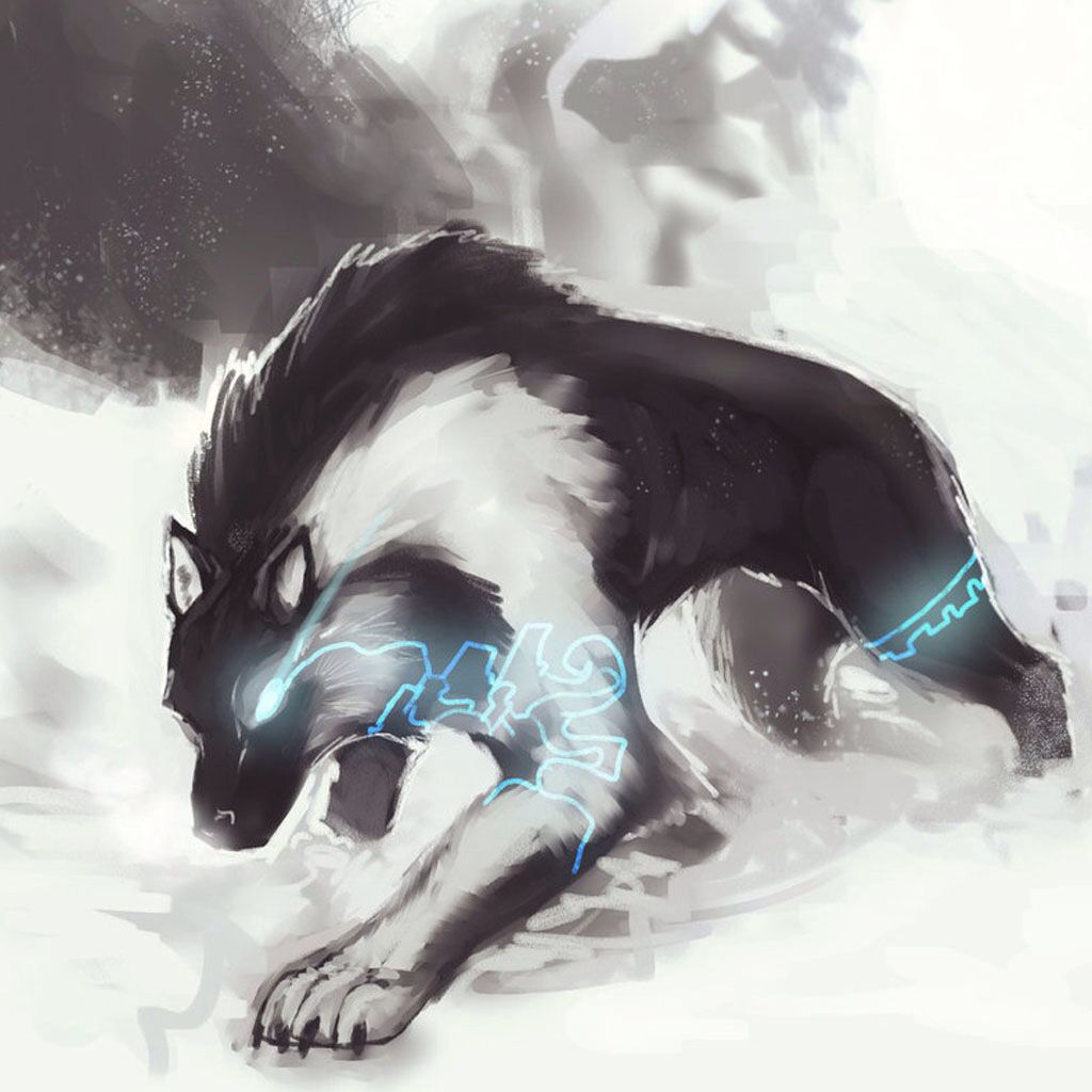Loup, Art Dessin And