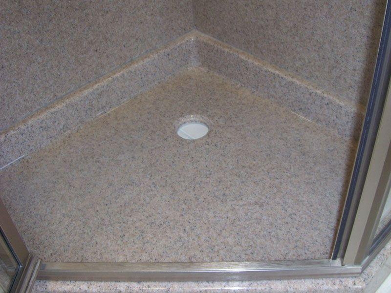 Cultured Marble Shower Base Repair
