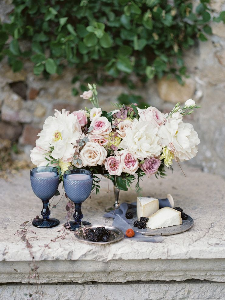 Pretty wedding details for Wedding shoot in Italy | fabmood.com