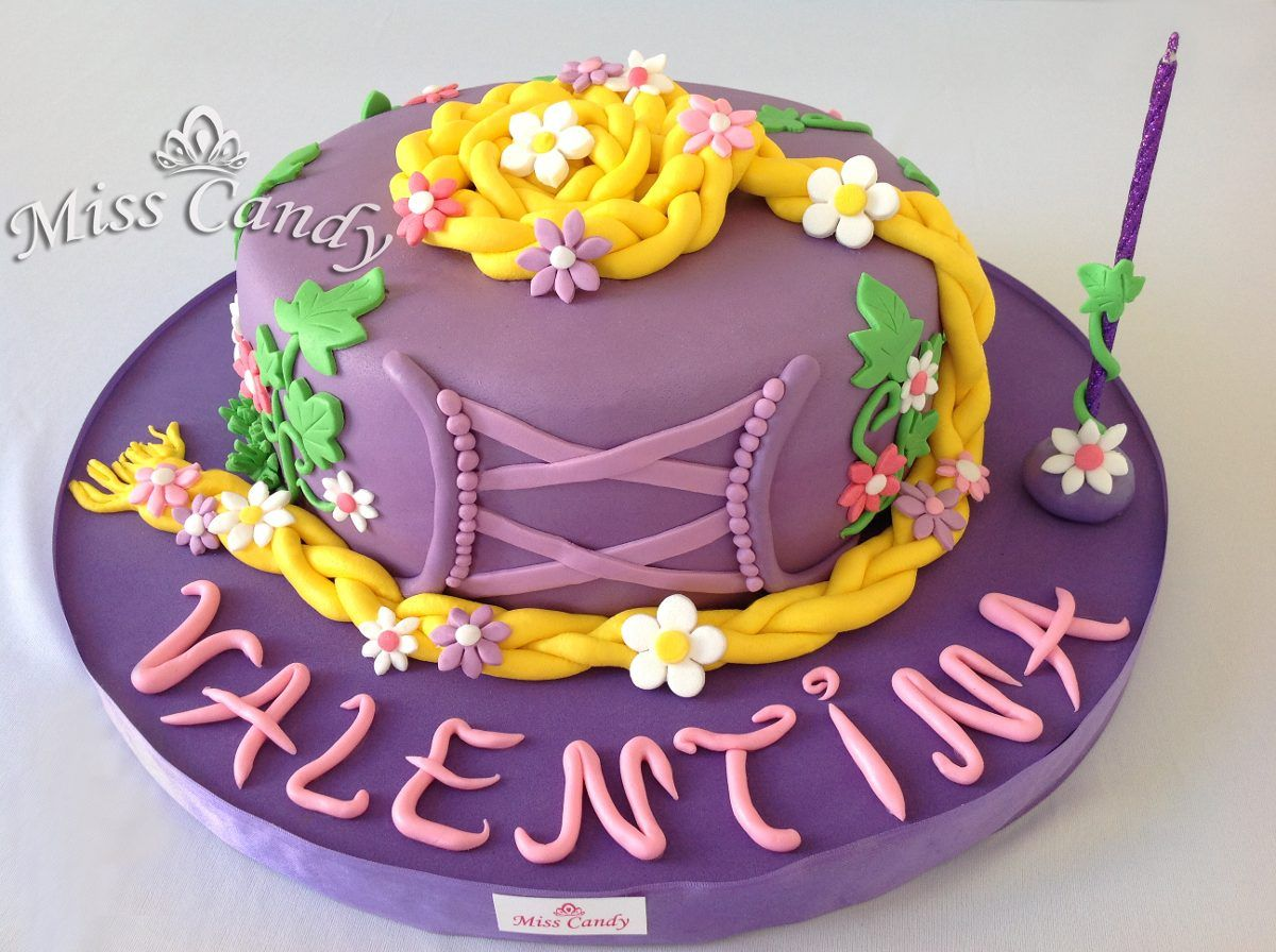 torta rapunzel - Buscar con Google | cumple | Pinterest | Rapunzel ...
