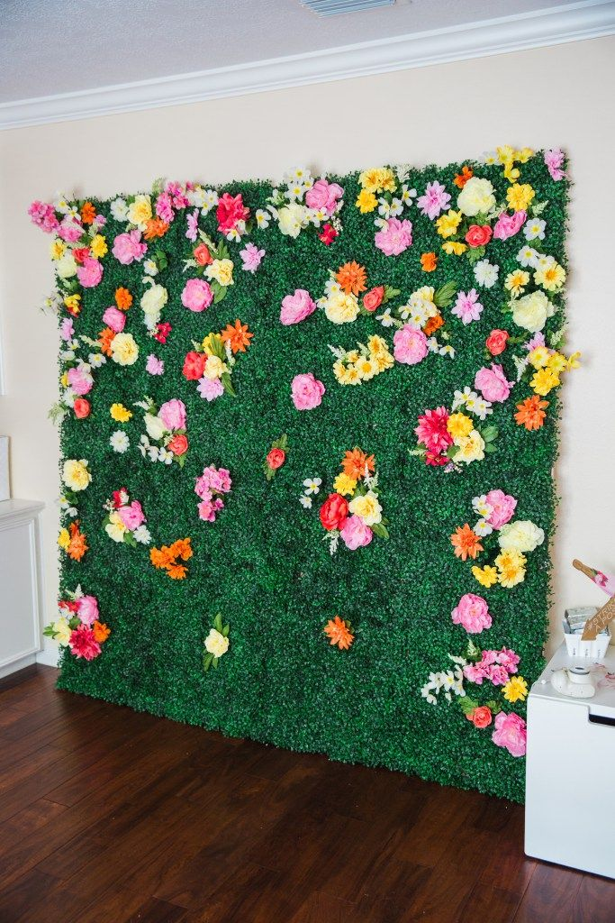 How To Make A Boxwood Backdrop Cake Confetti Easter
